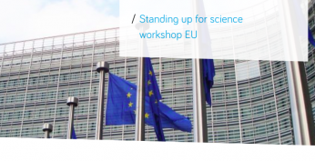 STANDING UP FOR SCIENCE WORKSHOP