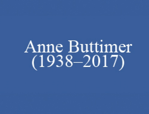Anne Buttimer (1938–2017)